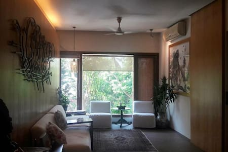 Beautiful nature embraced apartment in Colaba - Мумбаи - Квартира