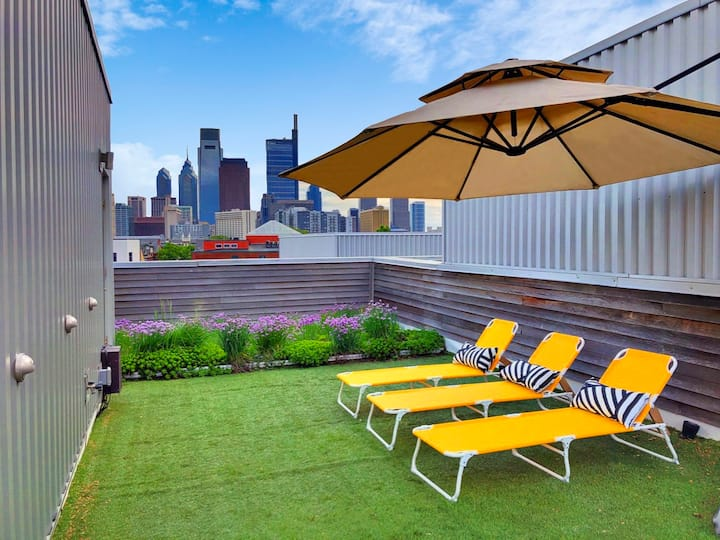 Family Friendly Gem with Private Roof Garden