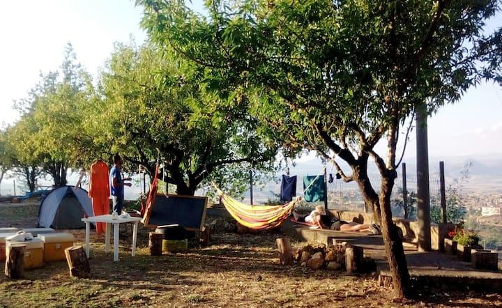 Cafeci Gardensharing, tenda e amaka