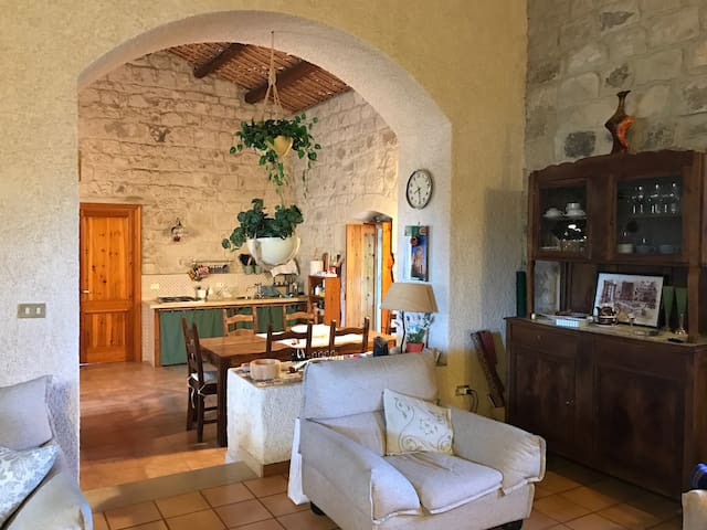 House in the countryside close to Modica - Modica - Huis