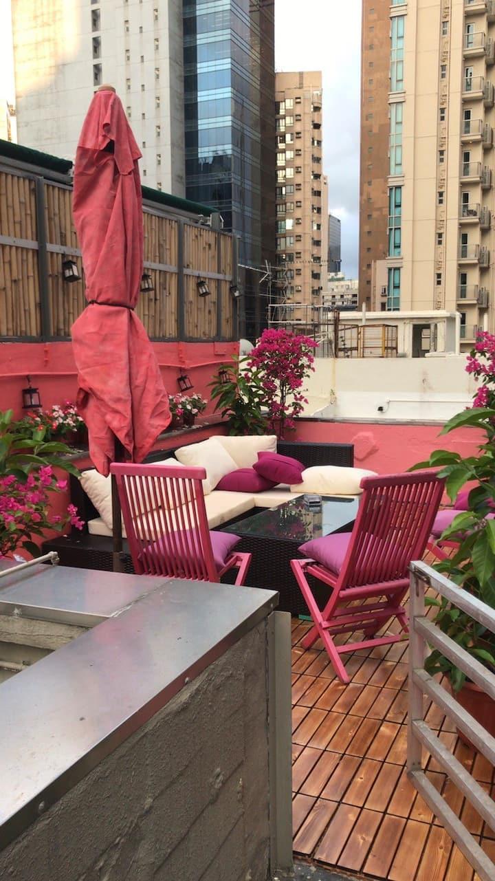 Rooftop in Heart of Soho