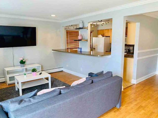 Two bed room entire private condo with kitchen