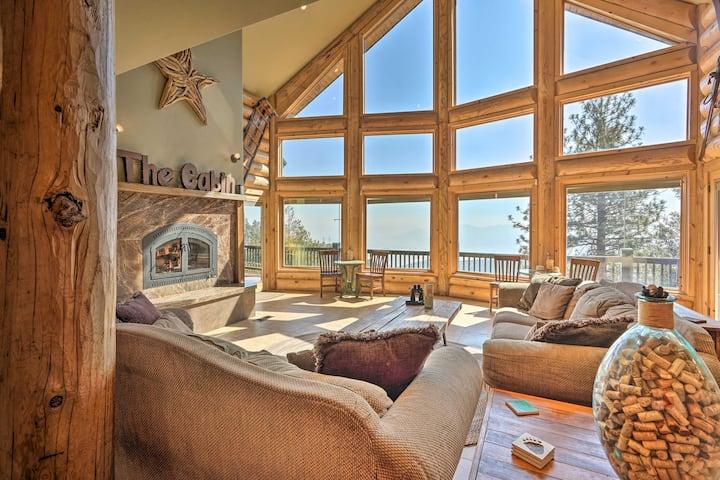 NEW! Stunning West Coast Cabin: Ski, Hike & Bike!