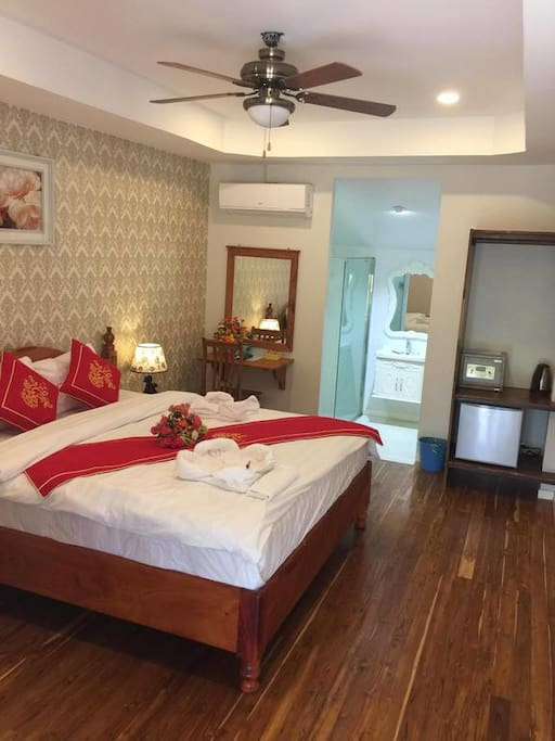 Superior Double or Twin Room with Terrace River View