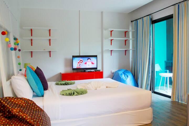 Fin Hostel Phuket @ Kata - Private 4