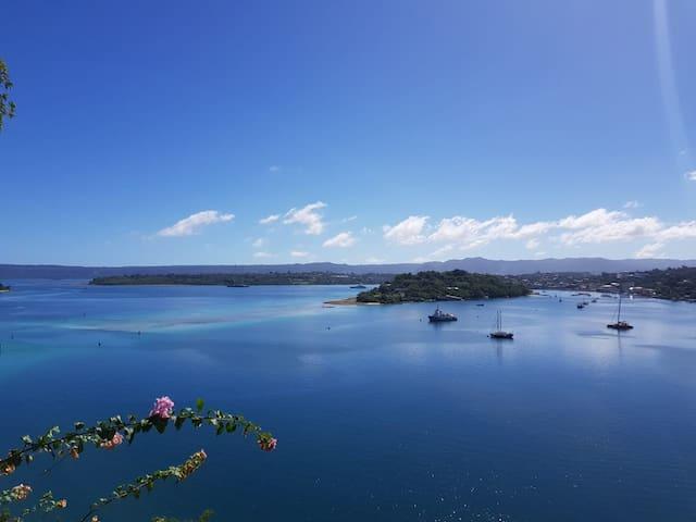 Astonishing view over PVL Bay - Nambatri