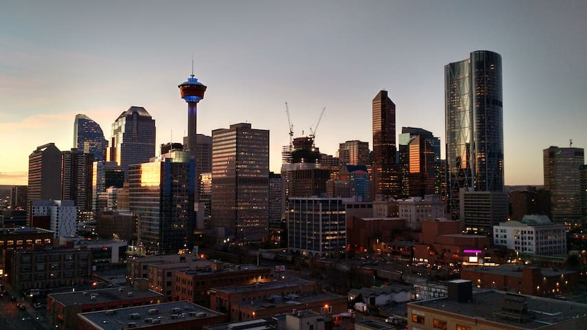 A downtown view you cannot beat - Calgary - Apartamento