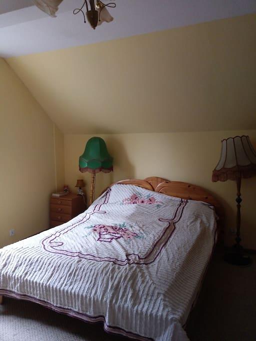 Sypialnia na piętrze 2 osobowa