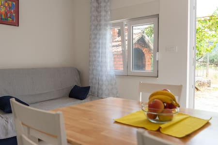 New apartment 50 m from the beach