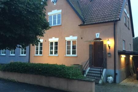 Renoverat källarplan i gammalt hus