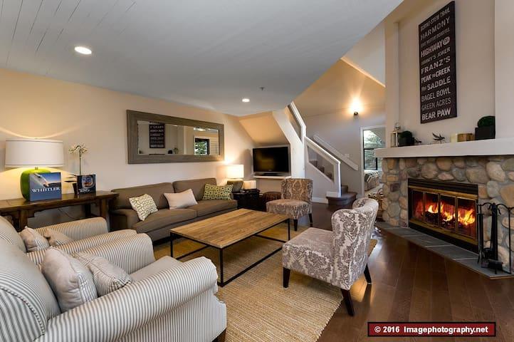 3 bedroom, quiet, spacious, tasteful, convenient. - Whistler