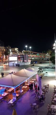 The central square of Netanya.