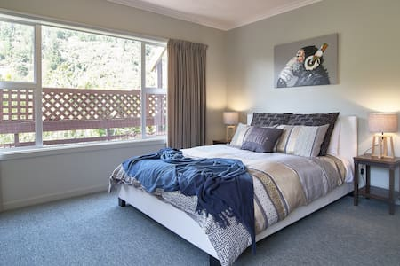 Christchurch Apartment, 1x Queen bed + 2x singles. - ไครสต์เชิร์ช - อพาร์ทเมนท์