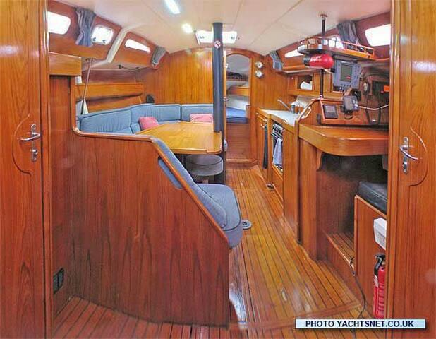 Stanza doppia in barca a vela con bagno privato - Villasimius - Boat