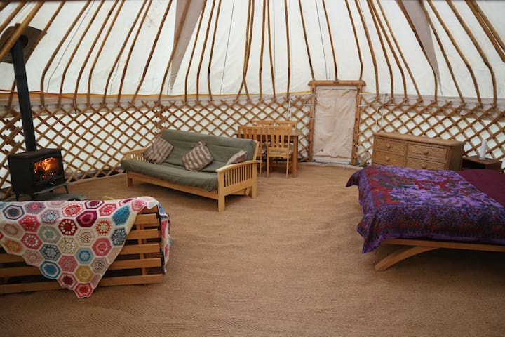 Yurt Lodge Natural get away at Fantasy Realm