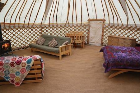 Yurt Lodge Natural get away at Fantasy Realm