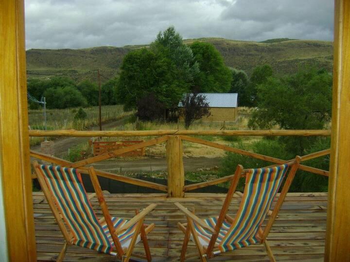 """Hermosa cabaña """"La Hidalgo"""" en Alumine (Patagonia)"""