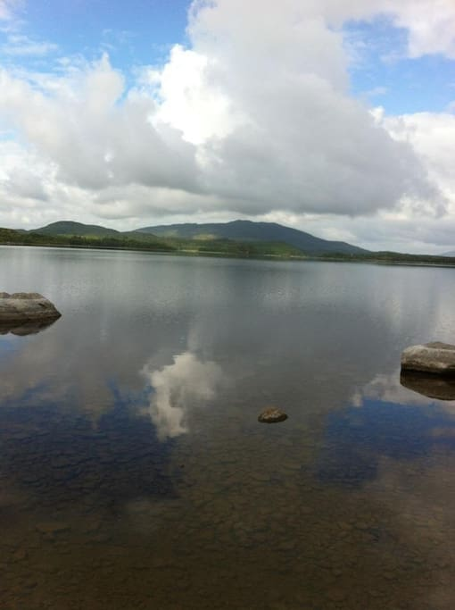 View of Nephin across Lough Conn
