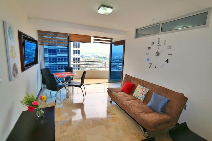 Apartamento amoblado lujoso en San Jose Costa Rica