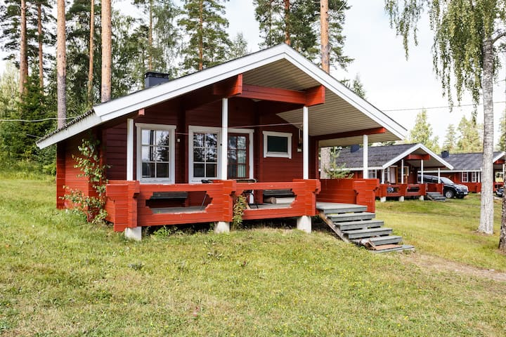 Cottage four-bed with sauna