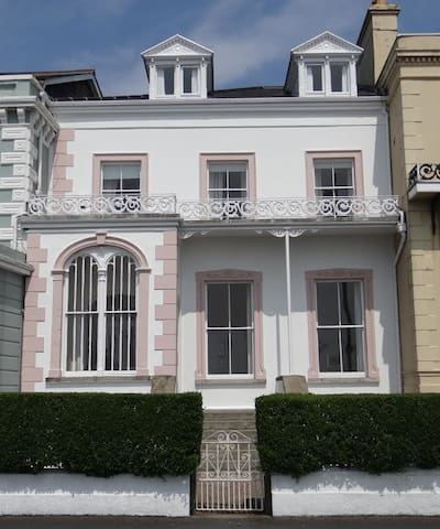 Victorian house on seafront
