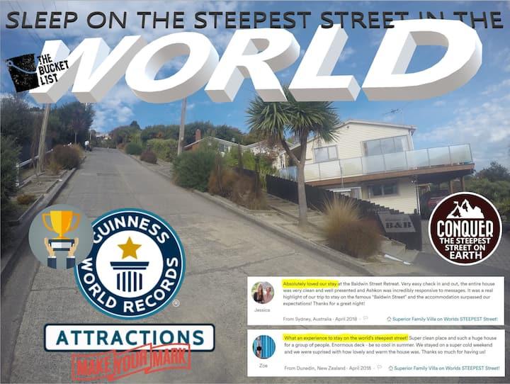 Superior Family Villa on Worlds STEEPEST Street!
