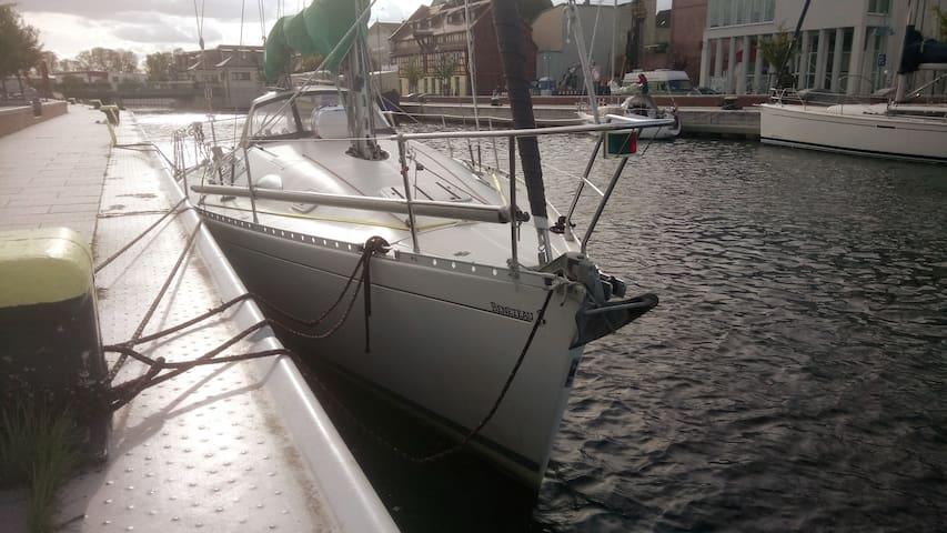 Hafenromatik auf der Segelyacht