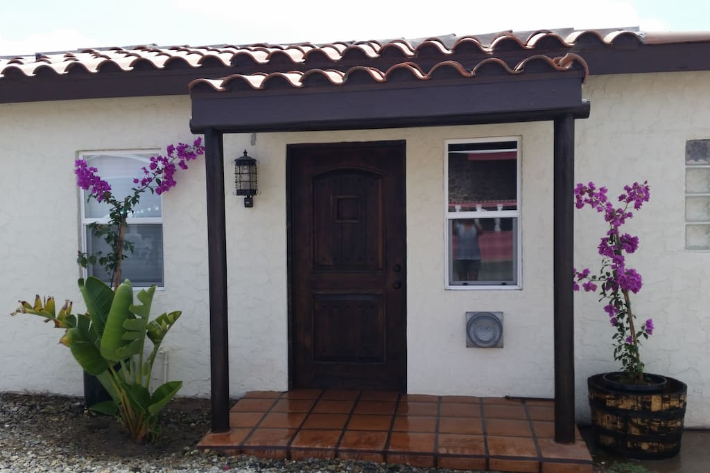Front of the Casita
