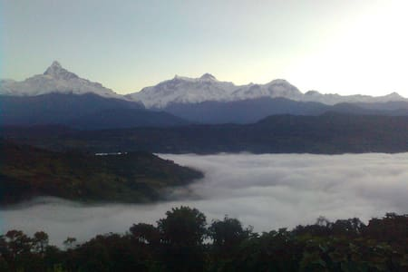 Mountain View, Natural Peace, loved - Pokhara - Huis