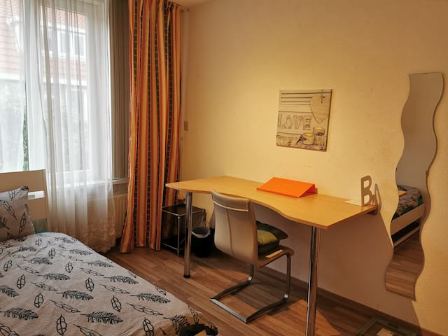 Near Den Haag center,Free parking , Pretty room