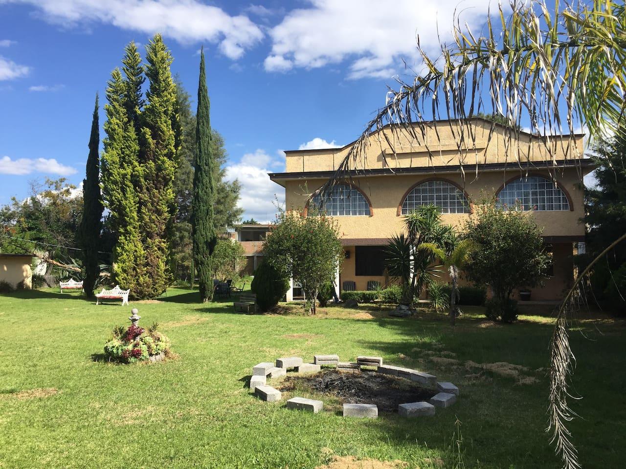Villa San Pablo lista para recibirte...