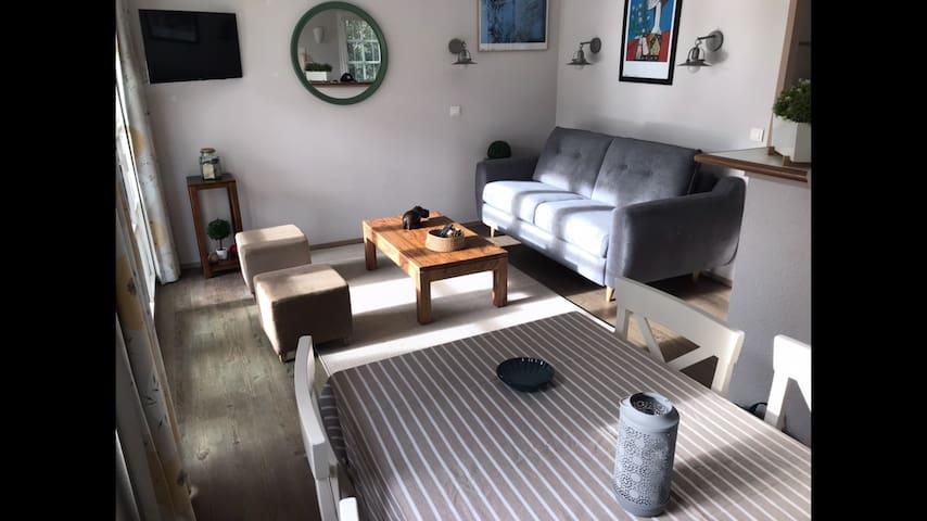 Appartement Bénodet vue mer à 20mètres de la plage