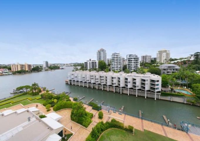 Dockside River Views Brisbane CBD - Kangaroo Point - Wohnung