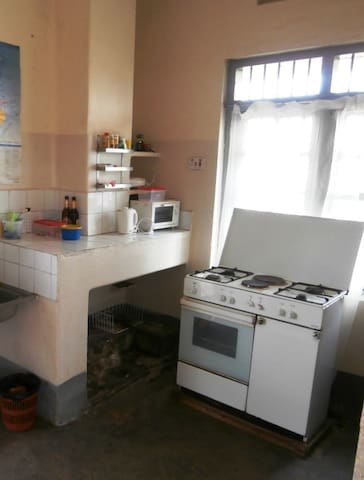 kitchen with cooker