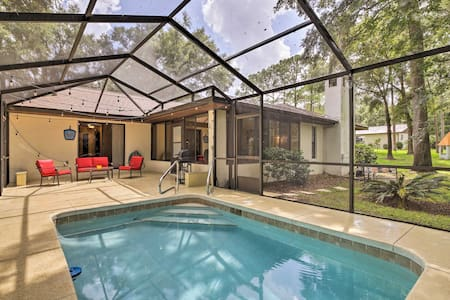 Pool House w/Kayaks 2Mi to Rainbow River & KP Hole