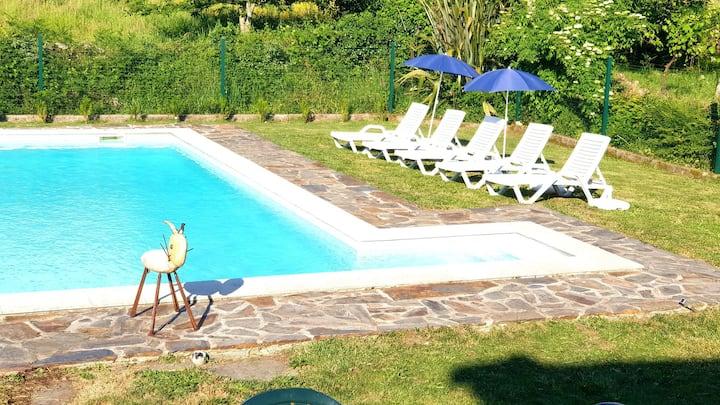 Altar das Beiras, free Wifi and Pool Access