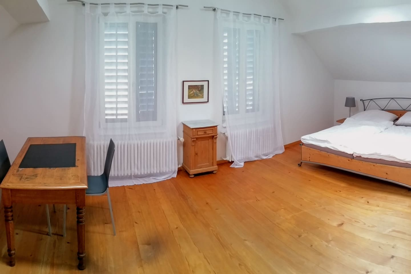 Panoramasicht Traditionszimmer