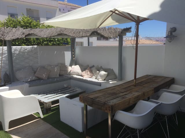 Lovely chill out house with garden - Vejer de la frontera - Haus