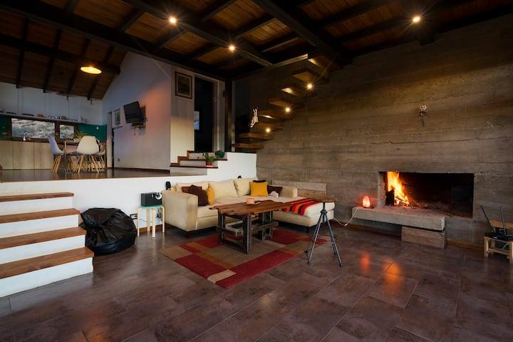 Relax en la Patagonia con una vista espectacular!
