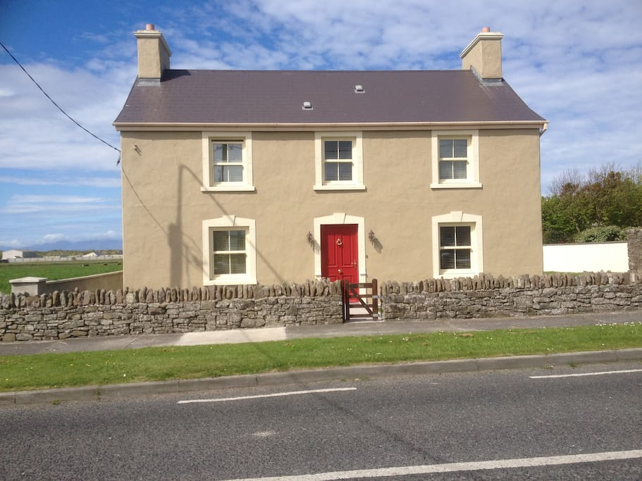 Recently renovated 100 year old farmhouse.