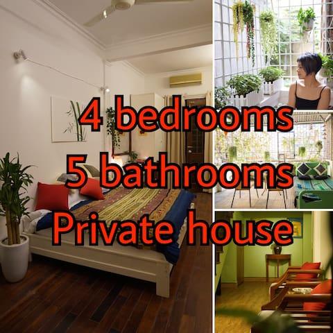4 Master Bedroom House - Super Central,Quiet,Local - Hanoi - Hus