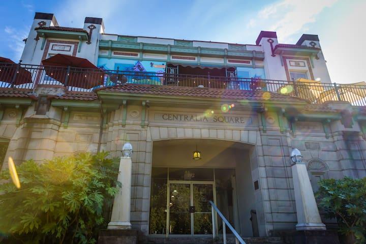 Centralia Square Hotel Room 302