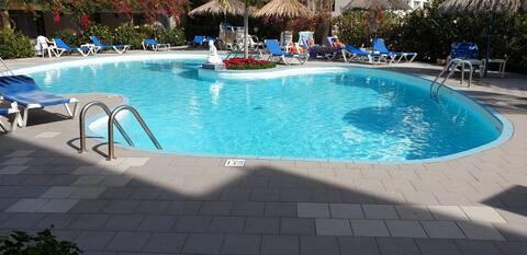 Apartamento GRAN CANARIA-  piscina  -100m la playa