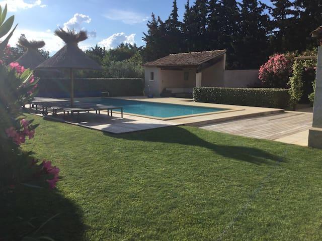 PROPRIETE DEXCEPTION DANS LES ALPILLES EYGALIERES - Eygalières - Apartment