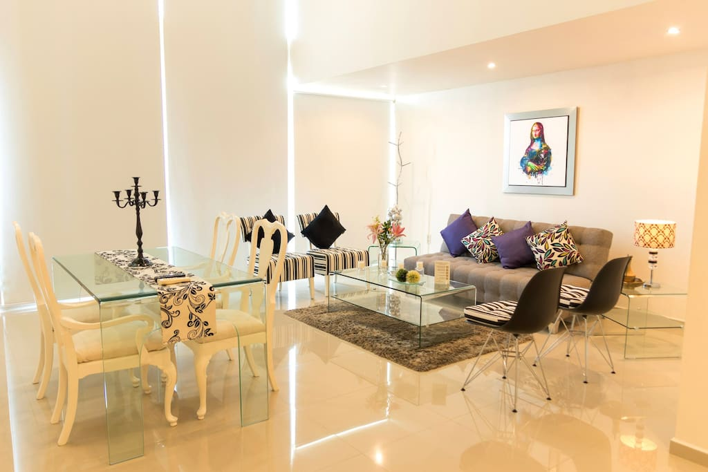 Sala comedor / Living & dinning room