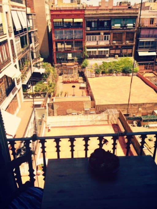 balconyview/vista desde el balcon/ Balkonausblick