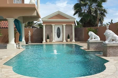 Luxury Private  Studio at Villa - Dutch west Indies - Huoneisto