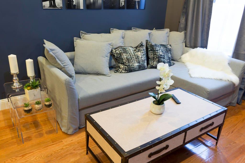 Living Room/ Sofa Bed (sleeps two)