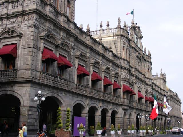 Departamento a 20 metros del Zócalo PLANTA BAJA - Heroica Puebla de Zaragoza - Lägenhet