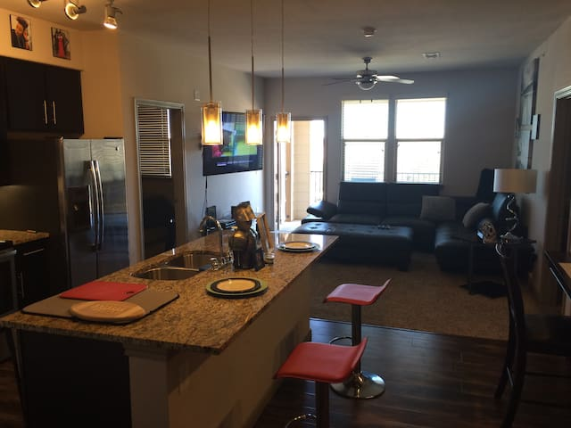 Super Bowl 2 bed 2 bath Great location - Pearland - Apartemen